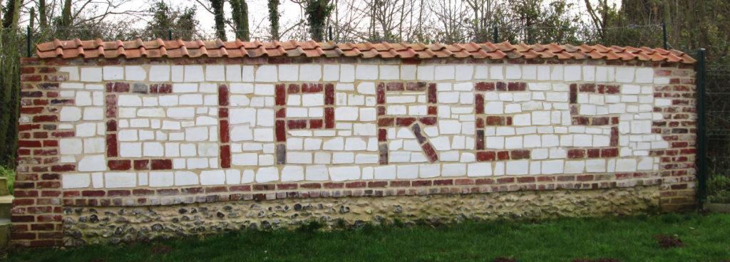 photo mur de l'association cipres